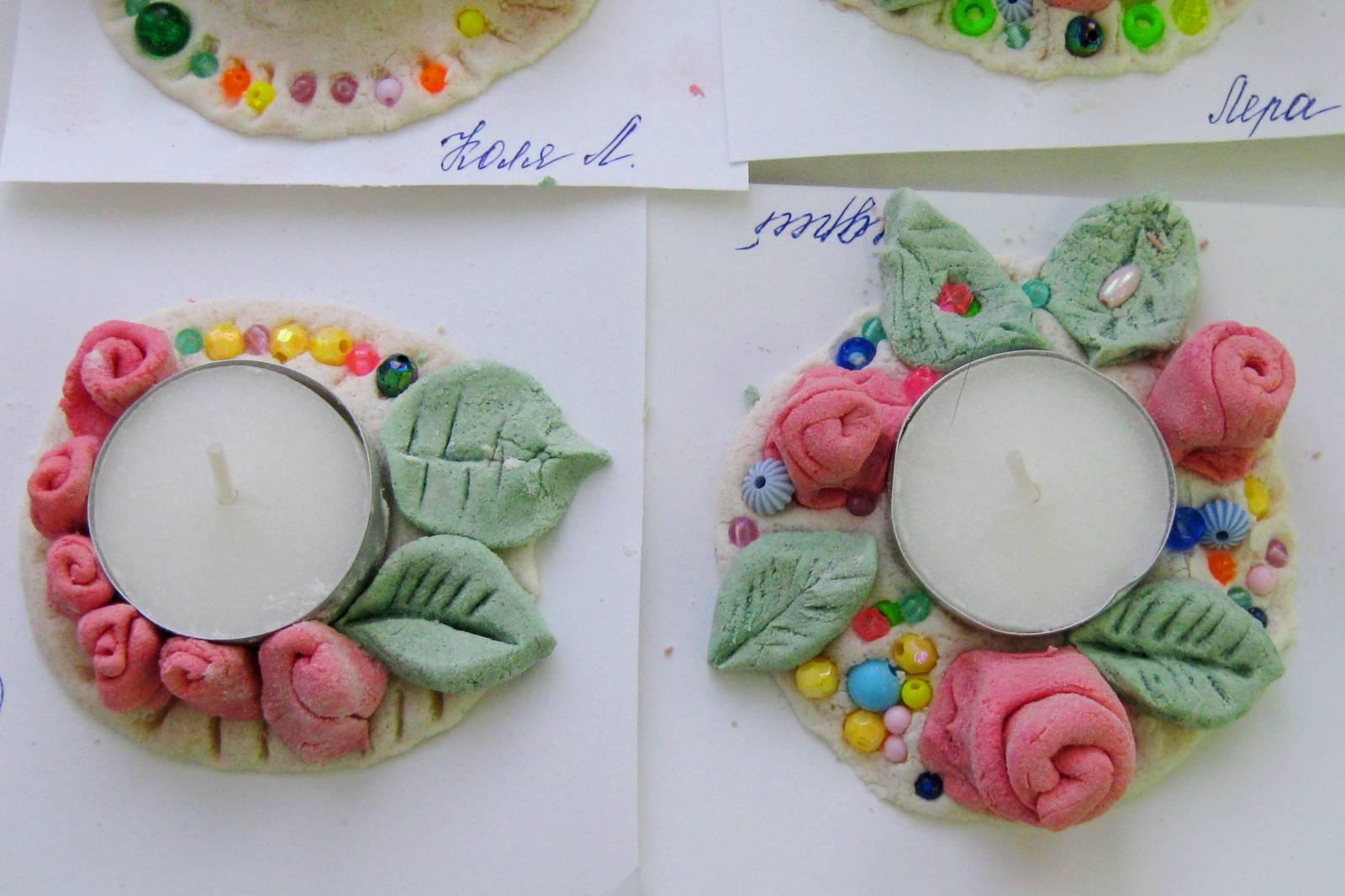 Соленое тесто поделки и рисунки